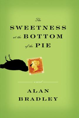 Book cover: Shows a dead black bird, lying on its back with a stamp impaled on its beak. The cover is very bright green, with all-caps for the nouns and a scripted cursive for the prepositions.