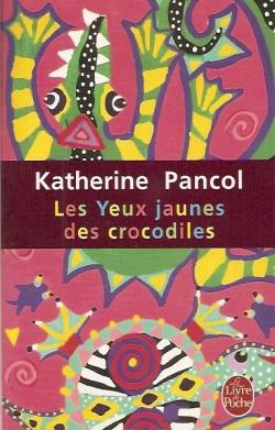 Book cover: shows stylised crocodiles. Very colourful.