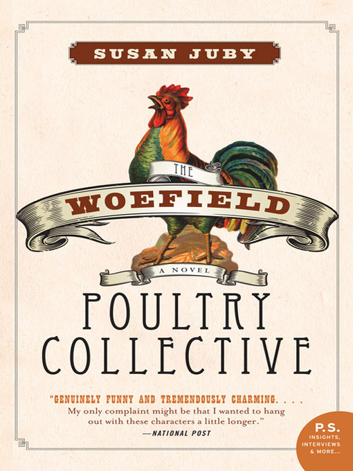 Book cover: Features a line drawing of a rooster; the whole thing has sort of an olde-tyme Farmer's Almanach vibe.