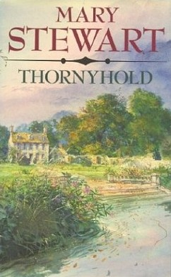 Book cover: Shows an English home nestled in a copse of trees, with a river winding in the foreground, all done in soft pastels and in a very Romantic style.